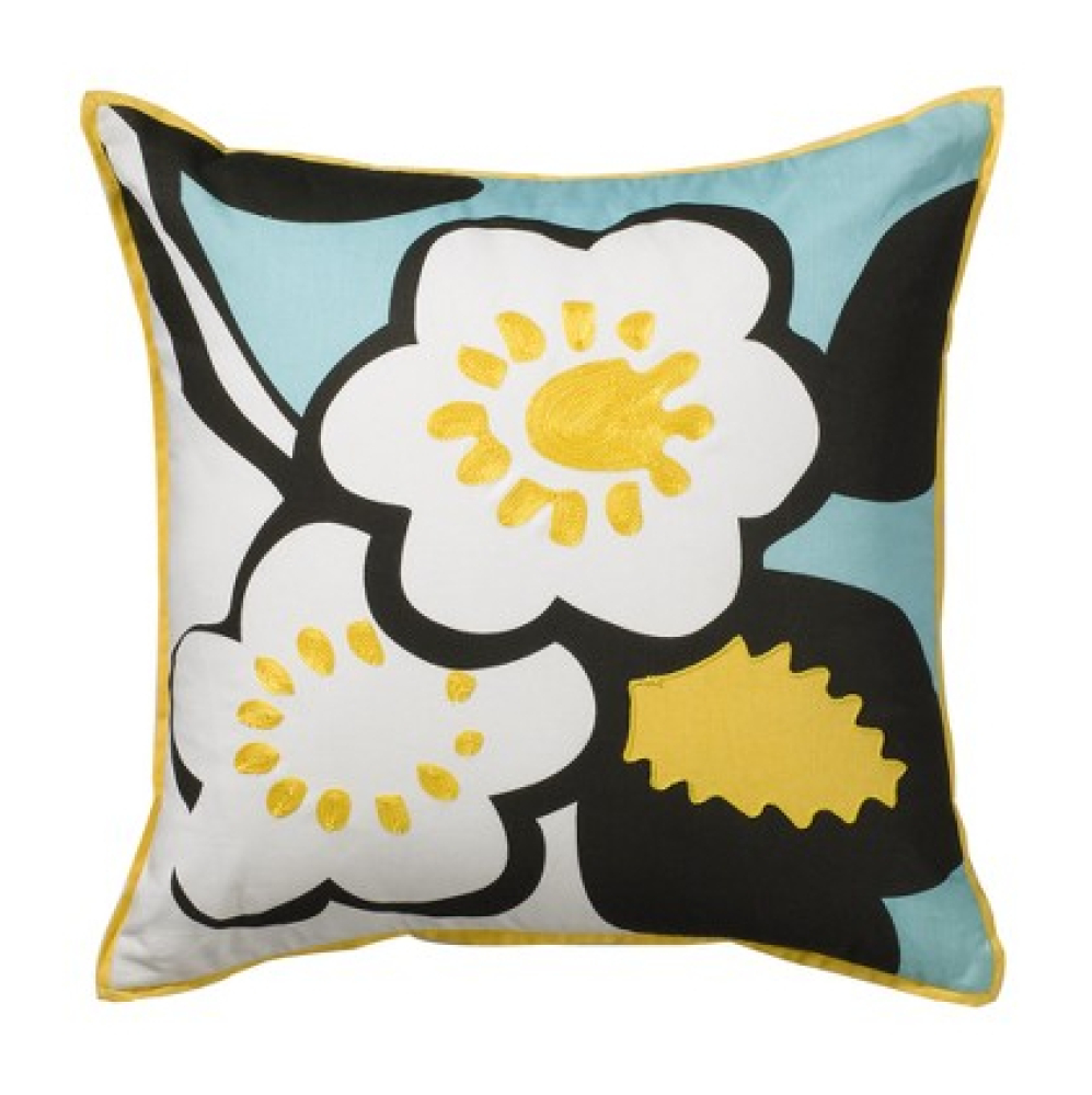 "Plum Blossom Decorative Pillow, $9.98 marked down from $19.99, <a href=""http://www.target.com/p/DwellStudio-for-Target-Plum-B"