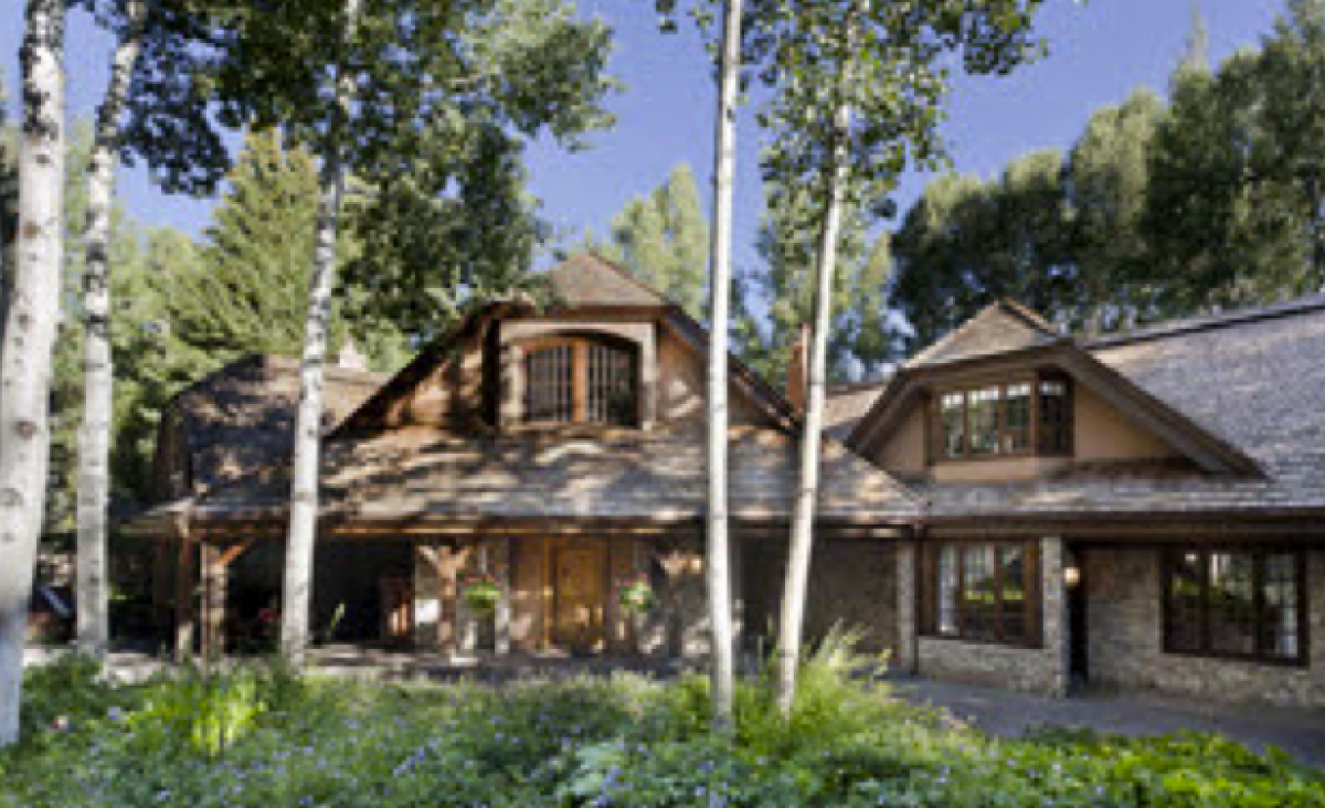 """Unaddressed Aspen, Colorado property. 6 Beds, 8 Baths 7,227 Sq. Ft.  1.02 Acres  Photos courtesy of <a href=""""http://www."""