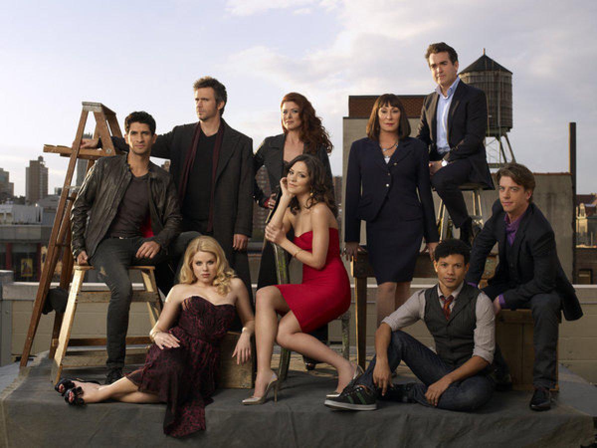 "The cast of ""Smash."""