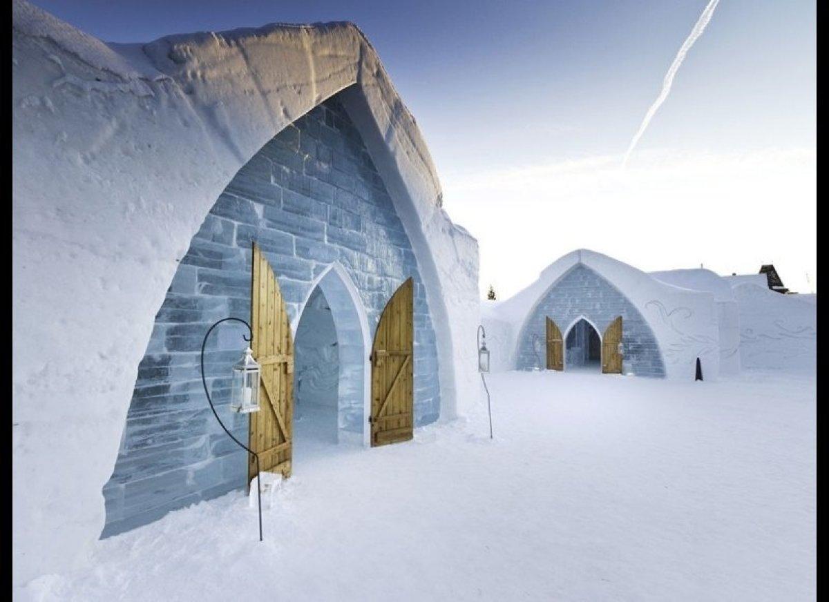 """<em>Quebec City, Canada</em> Canada's <a href=""""http://www.huffingtonpost.com/2012/01/09/quebecs-ice-hotel-opens-f_n_1194179."""