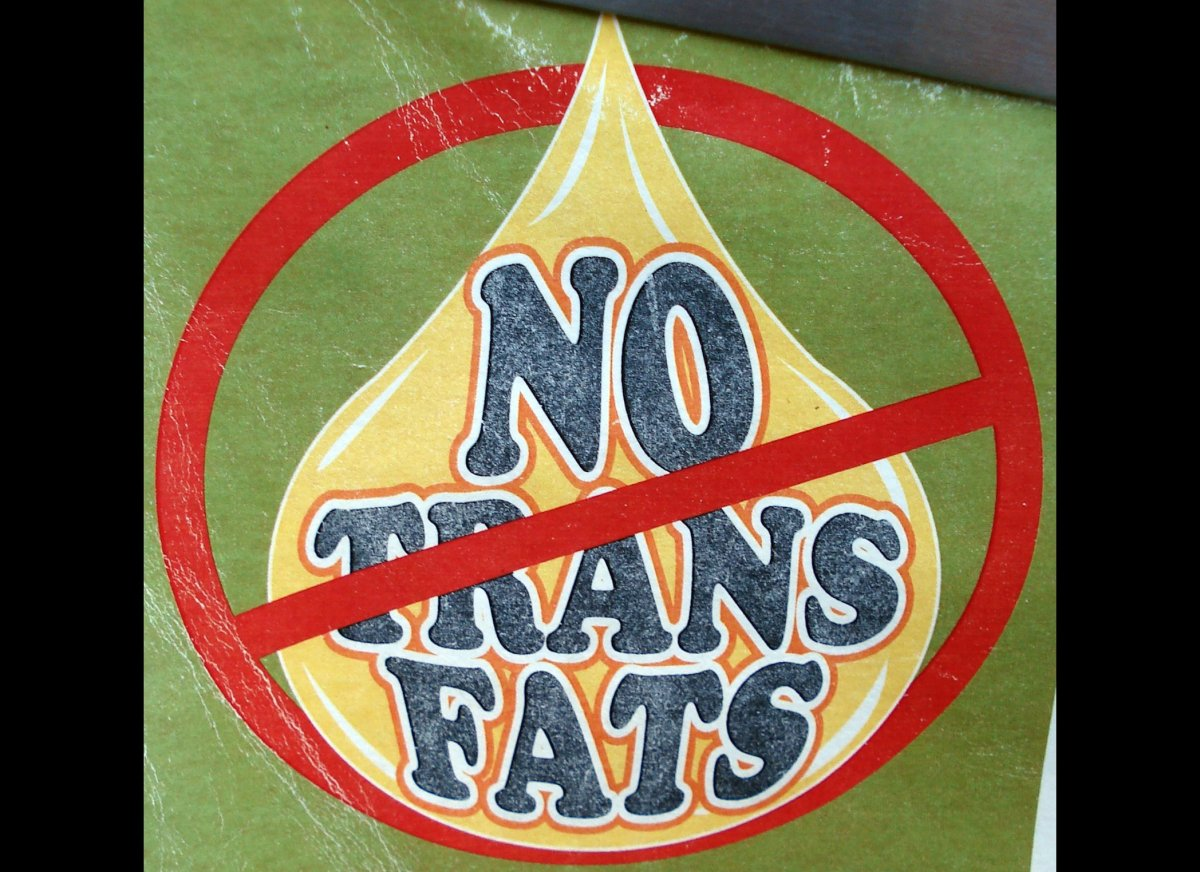 """Look out for """"partially hydrogenated vegetable oils."""" Trans fat alters metabolic processes and hardens your arteries. How muc"""