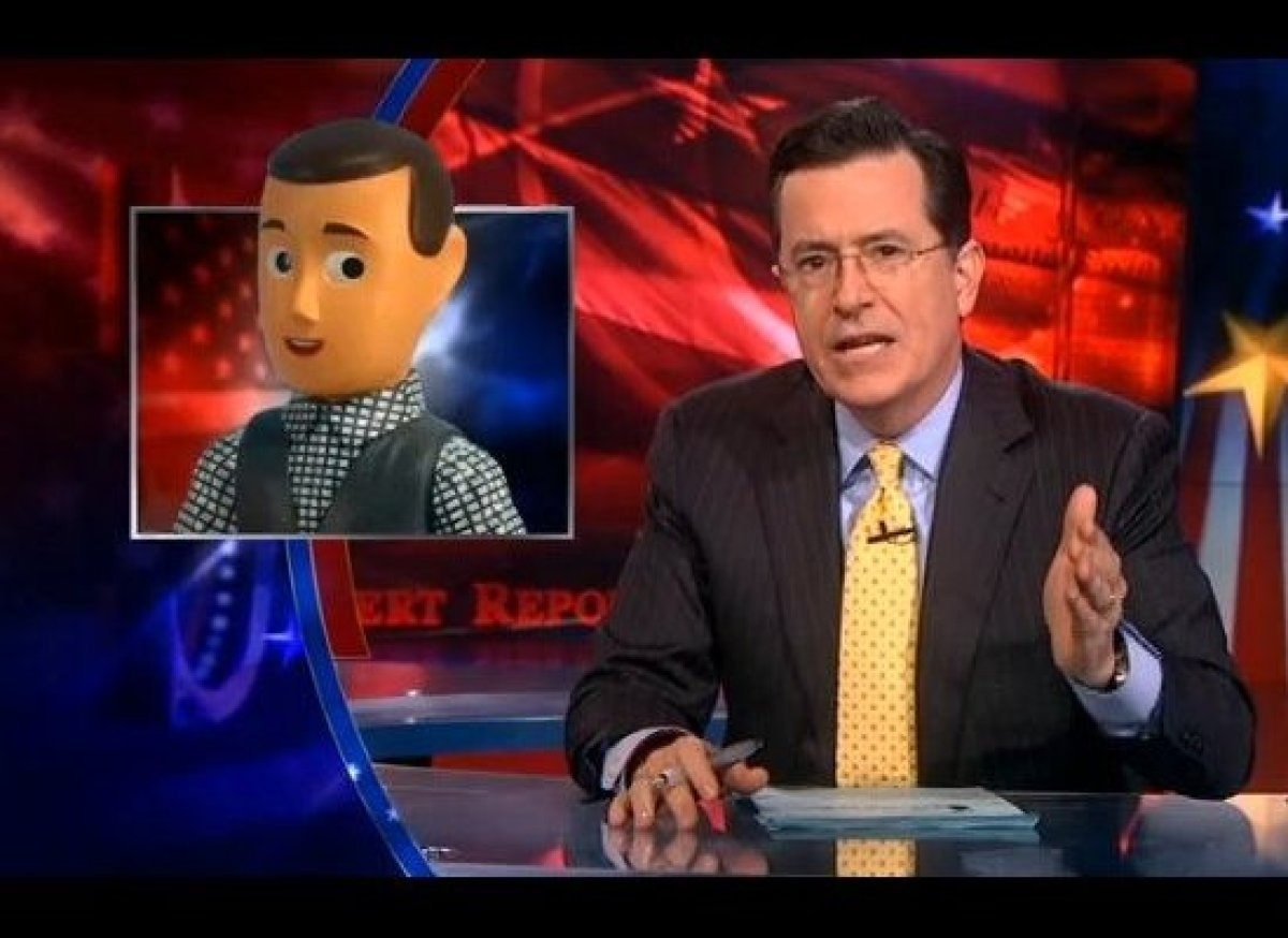 "Stephen Colbert defends Rick Santorum's <a href=""http://gtcha.me/ypXGKY"" target=""_blank"">possibly racist comments about ""blah"