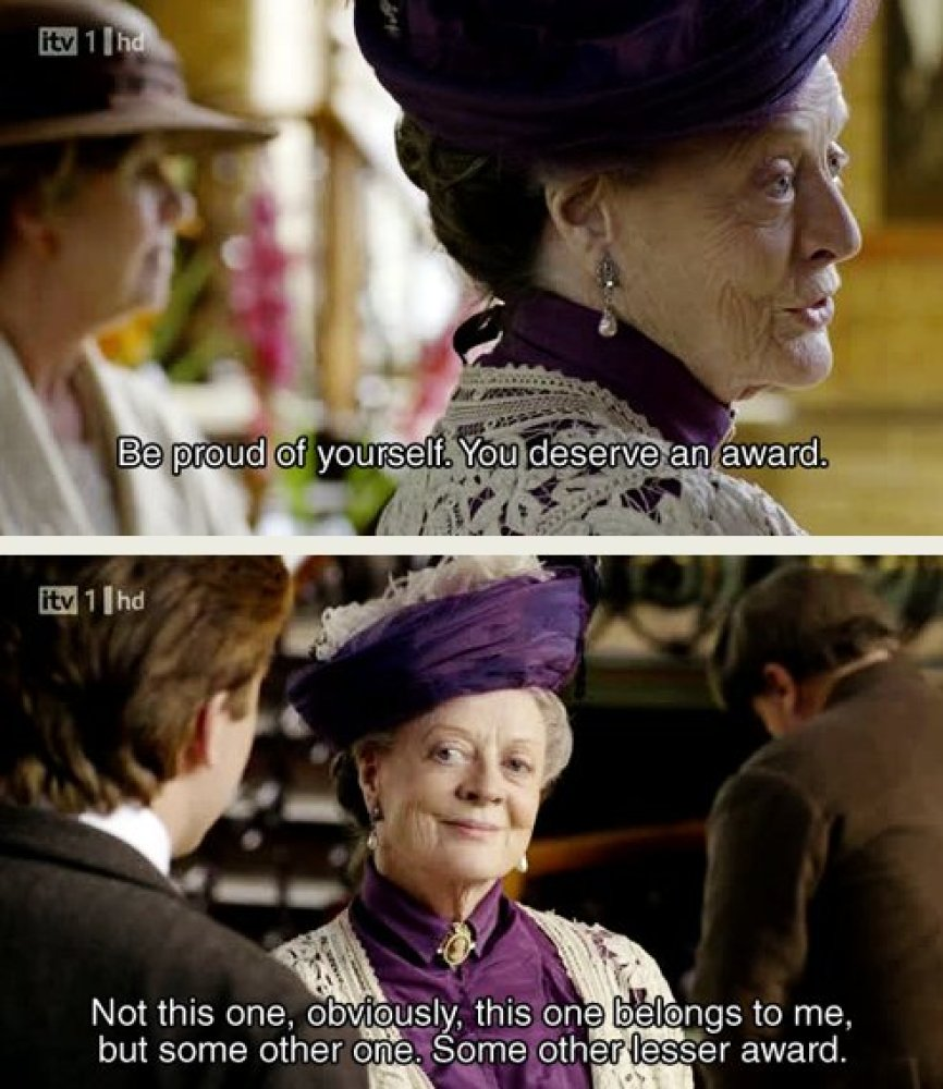 """Love Downton Abbey? Love Parks and Rec? <a href=""""http://downtonpawnee.tumblr.com"""" target=""""_hplink"""">This blog</a> combines scr"""