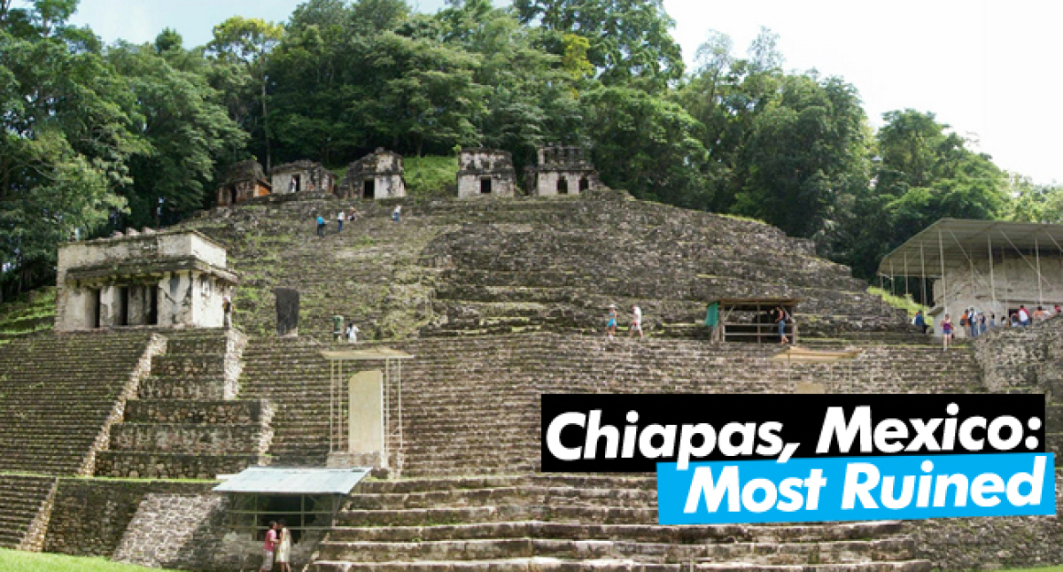 This is the part of Mexico you don't see on a one-week, spring break, bar-hopping, binge-drinking spree. Chiapas has real Mex