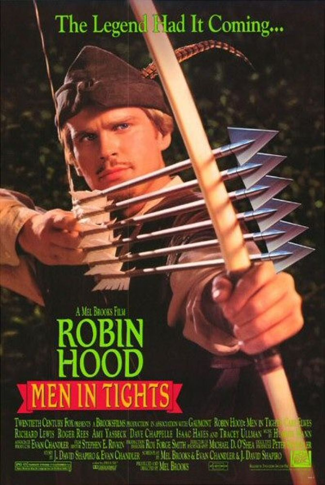 This 1993 Mel Brooks Robin Hood parody featured a cameo by Patrick Stewart. As a former member of the Royal Shakespeare Compa