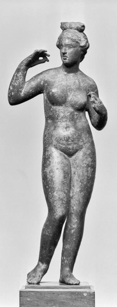 Greek, Aphrodite, 332-30 BC, bronze, 27.3 cm, The Walters Art Museum, Baltimore