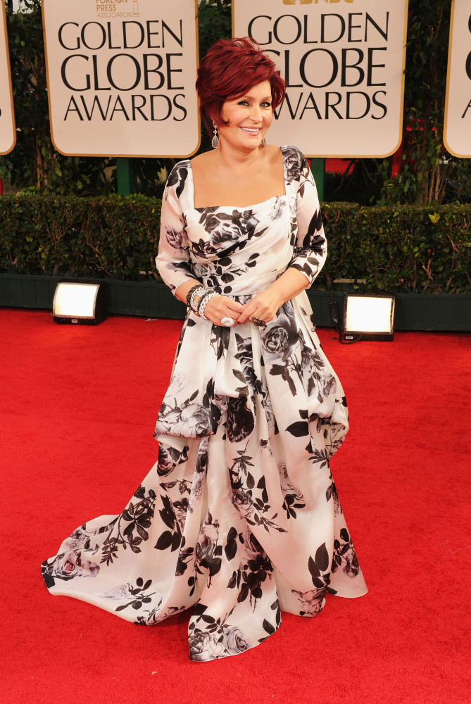 Donning your drapes on the red carpet is a definite DON'T. Getty Images