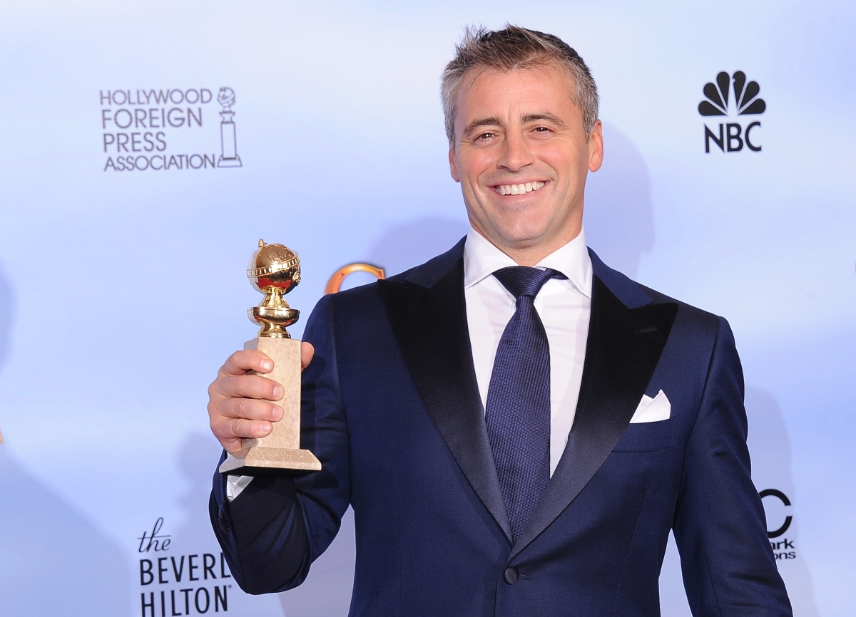 "How YOU doin', Hollywood Foreign Press voters? Guess the HFPA is comprised of big ""Friends"" fans. Matt LeBlanc's win for Best"