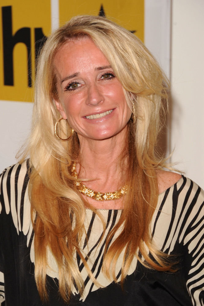 TV personality Kim Richards arrives at the Critics' Choice Television Awards at Beverly Hills Hotel on June 20, 2011 in Bever