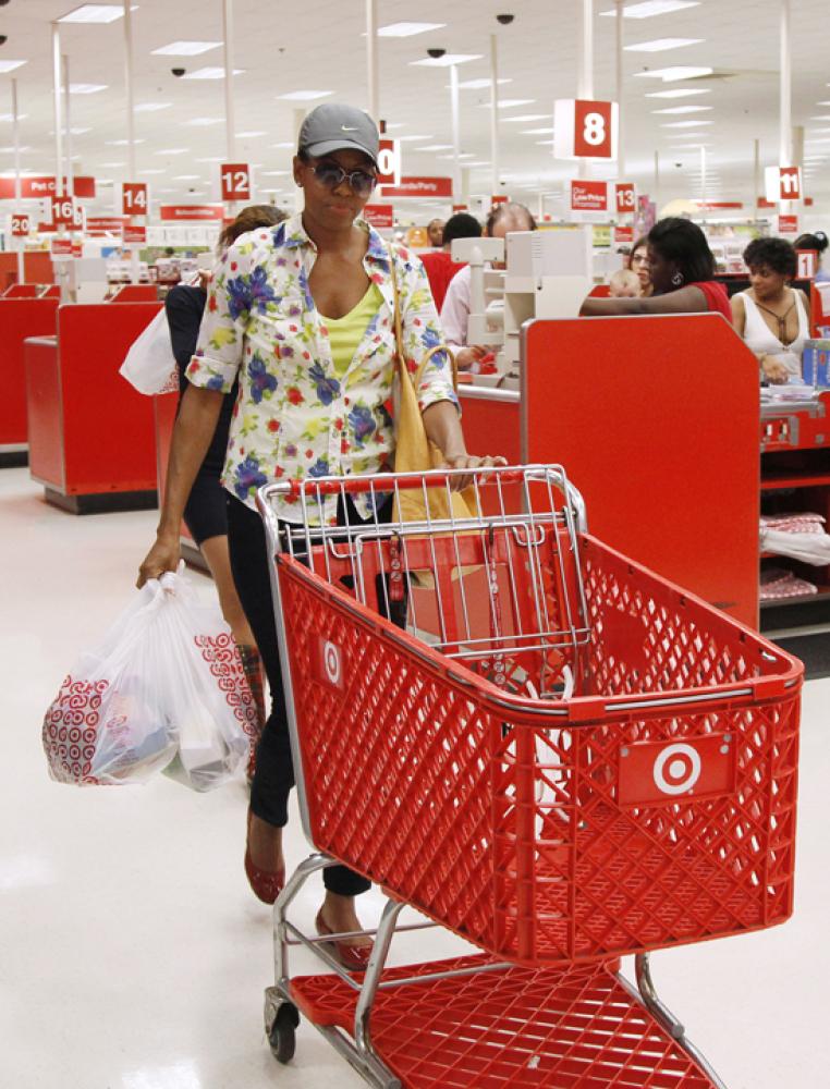At the Target in Alexandria, VA, September 2011. (AP photo)