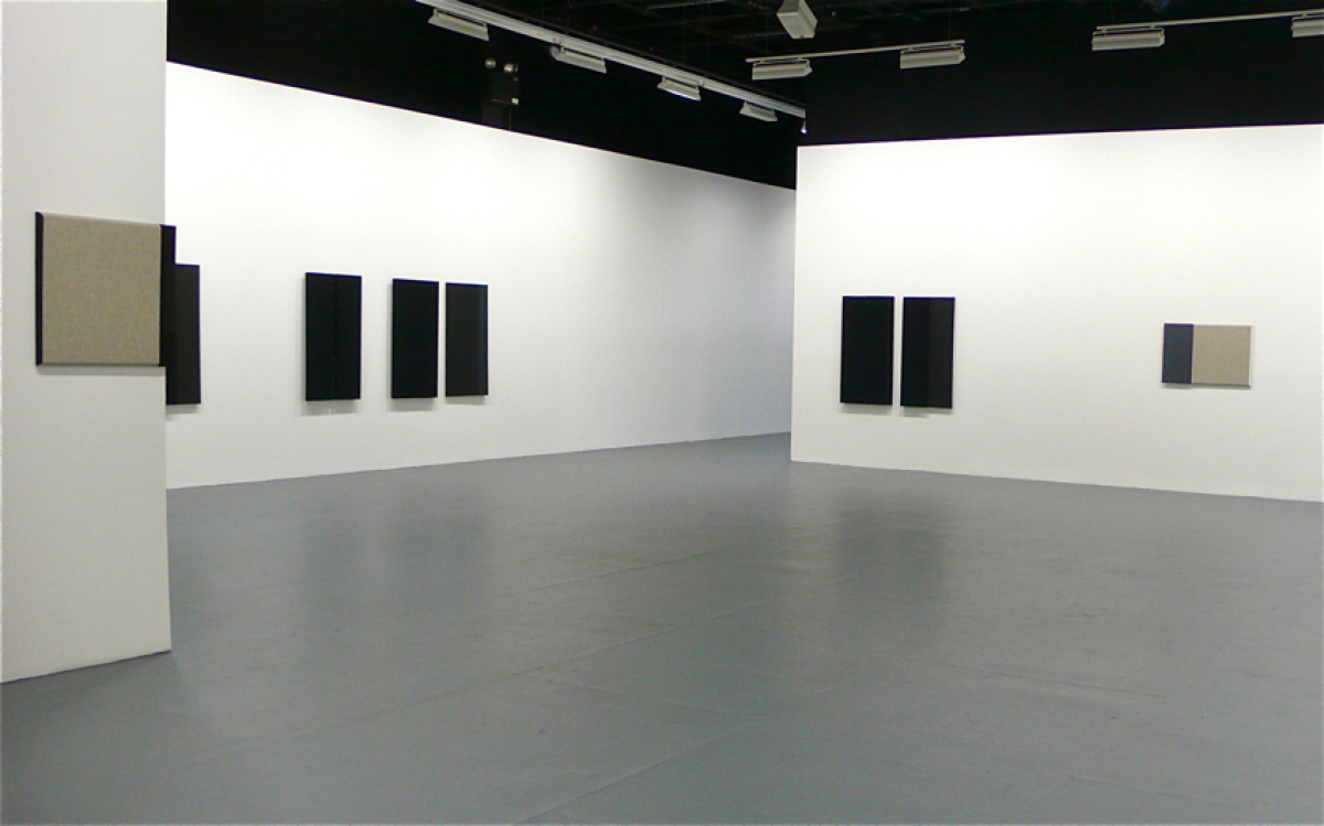 Installation View of Absorb/ Diffuse at The Kitchen, 2011.