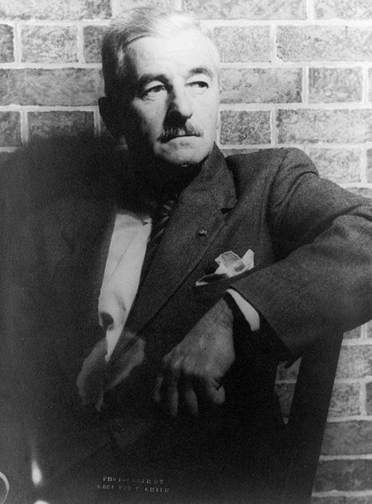 "Asked whether writing for the movies is a compromise, Faulkner answered, ""Always, because a moving picture is by its nature a"