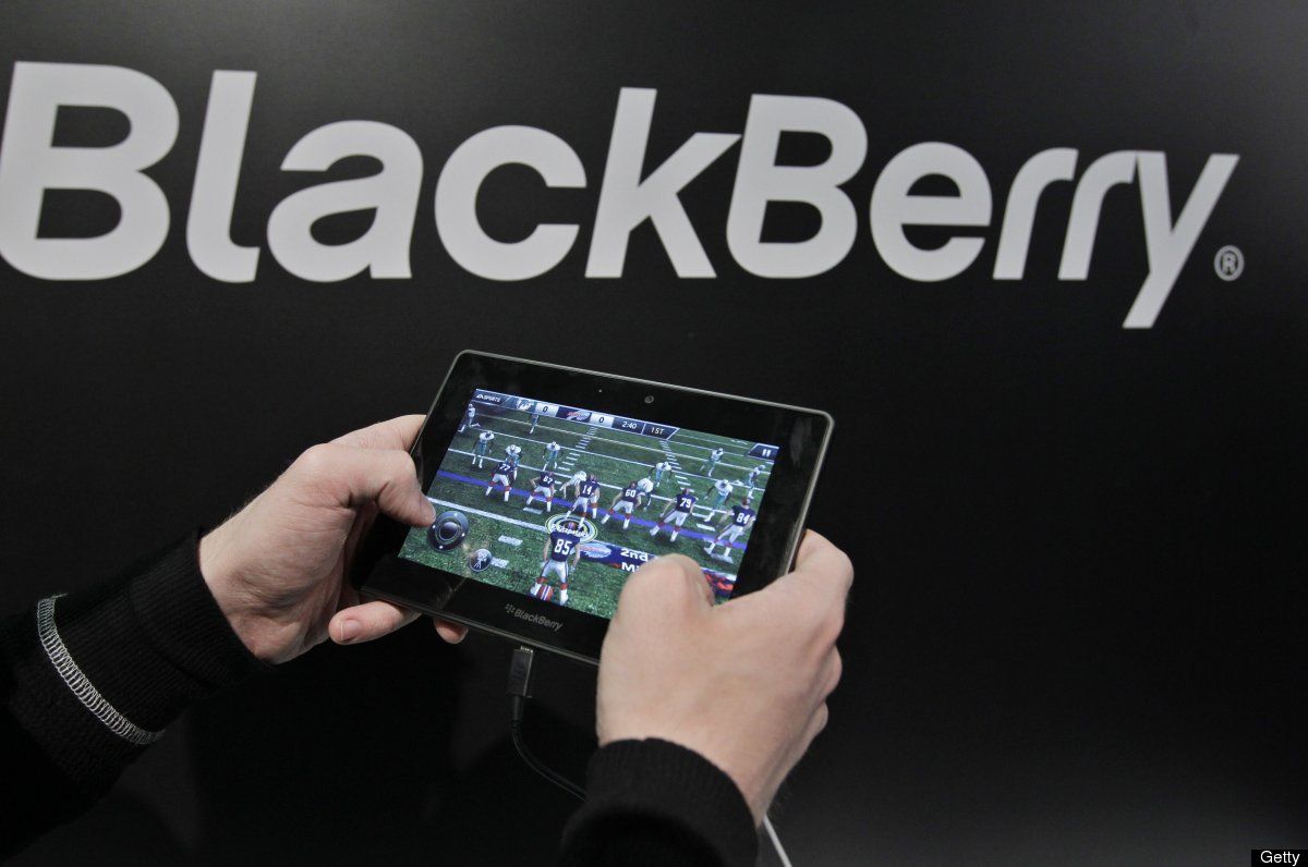 "The PlayBook tablet, which was the BlackBerry maker's answer to the iPad, went on sale in April 2011. Since then, <a href=""ht"