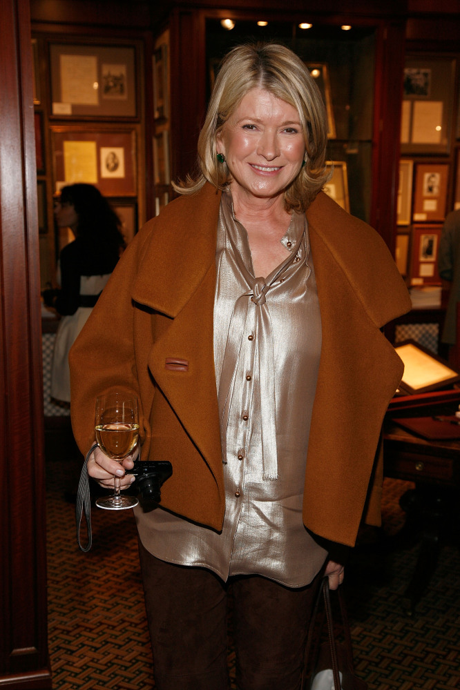 Martha Stewart attends the 2012 Winter Antiques Show Opening Night party at the Park Avenue Armory on January 19, 2012 in New