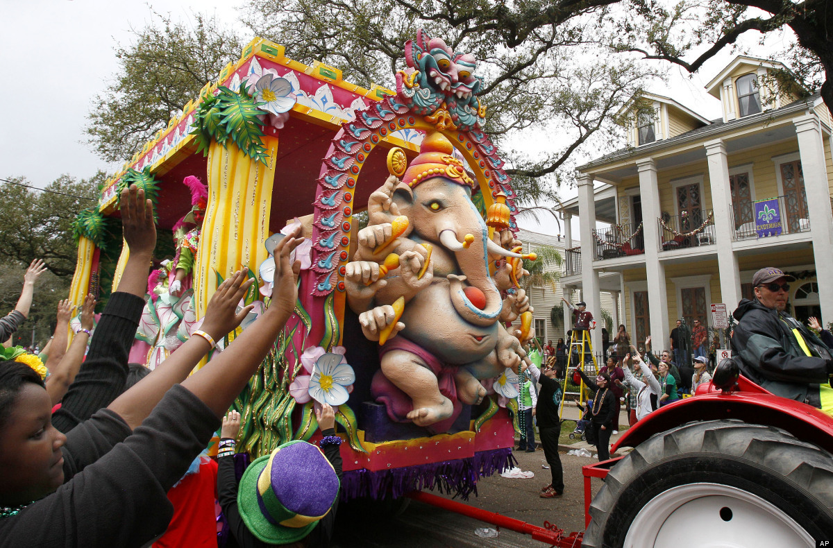 """Thousands of tourists flood The Big Easy annually for Mardi Gras in New Orleans, deemed """"the biggest free party on earth."""" Th"""