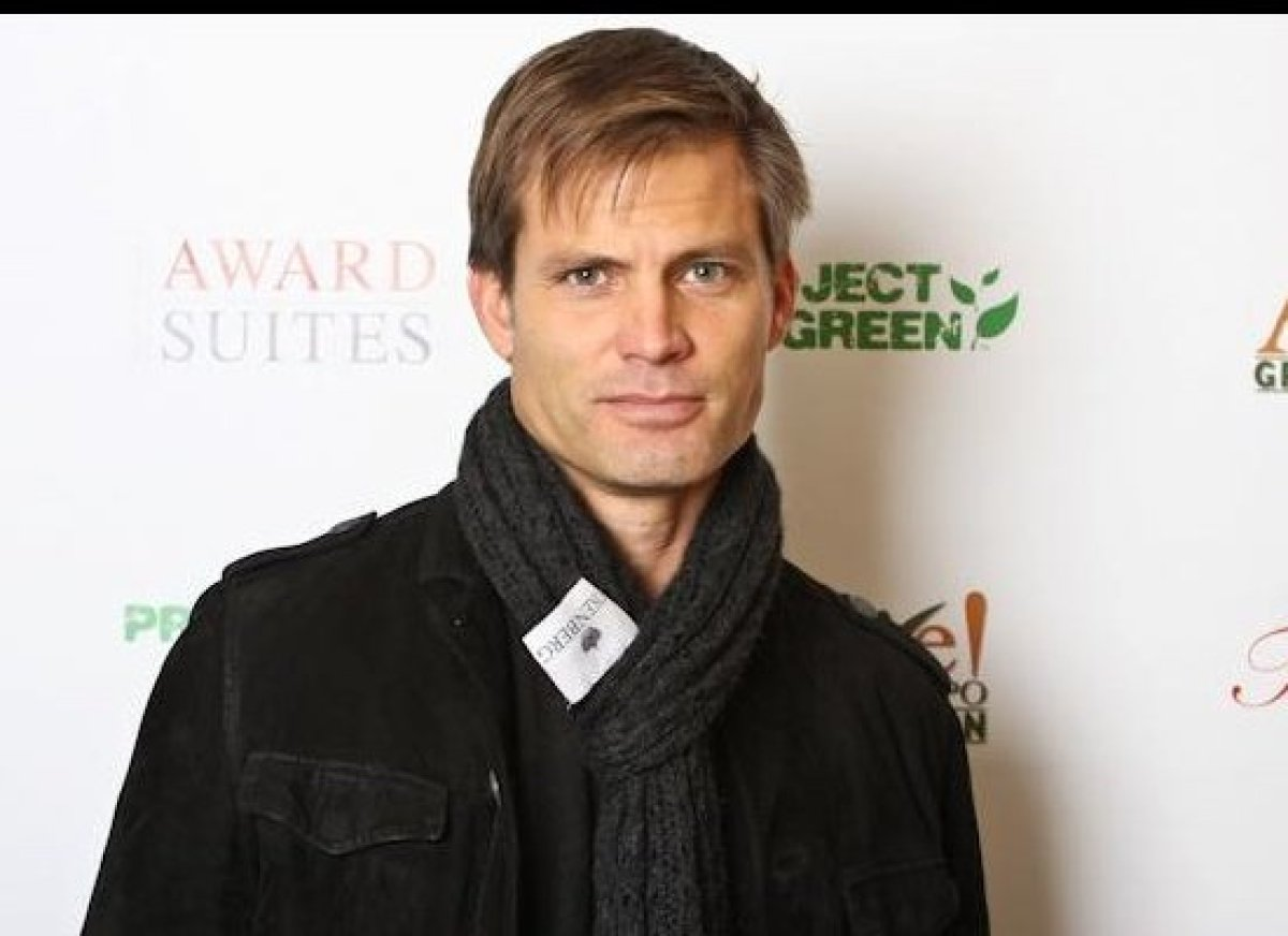 Casper Van Dien, star of the Sundance film <i>The Pact,</i> attends the ALIVE! Expo Green Pavillion/Mix Media Lounge.
