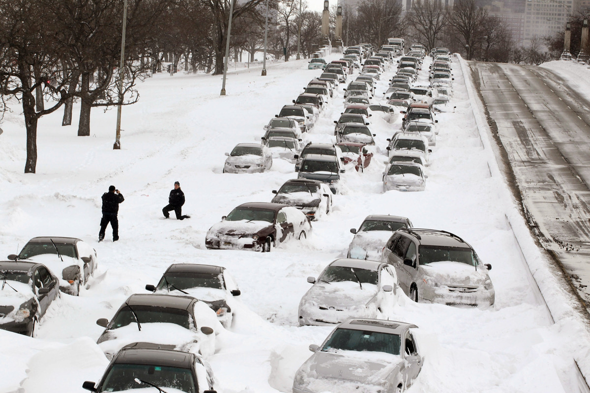 If a blizzard is predicted, stay off the roads and stay indoors. There's good reason not to travel: roughly 70% of injuries d