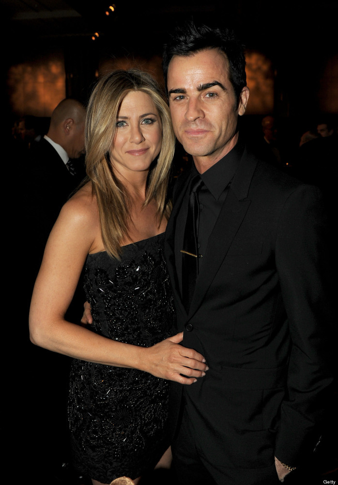 Actress-director Jennifer Aniston and actor-director Justin Theroux attend the 64th Annual Directors Guild Of America Awards