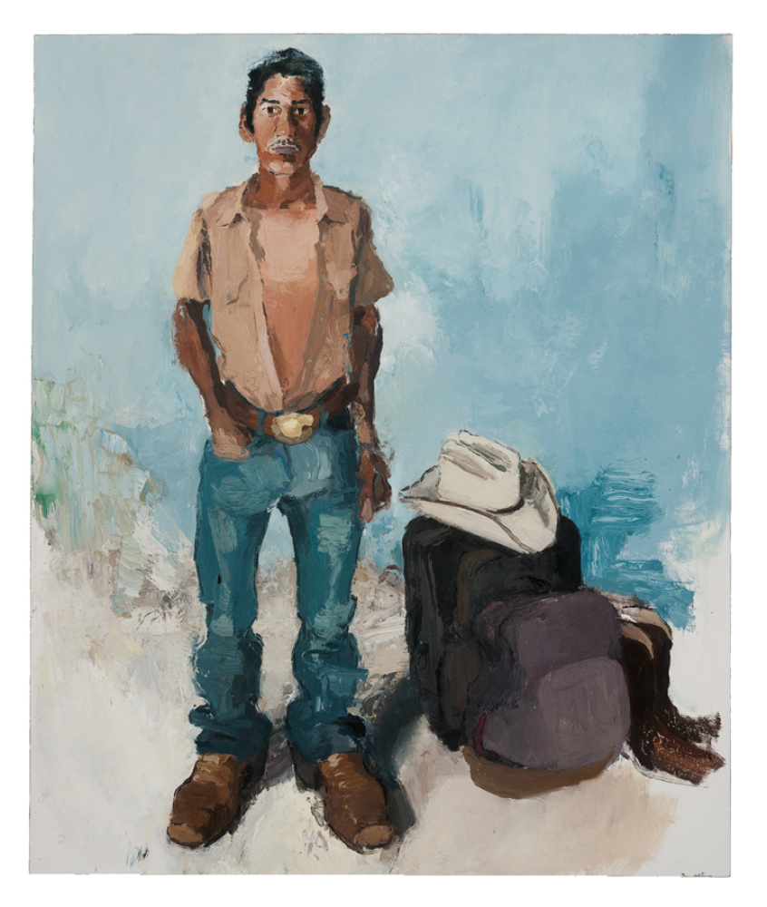 """John Sonsini, """"Byron"""", oil on canvas, 72"""" x 60"""", 2009, Courtesy of the artist and Inman Gallery, Houston, TX; photo credit: R"""