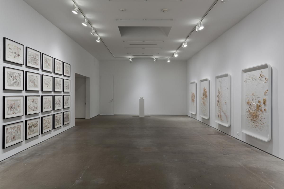 GLENN KAINO Bring Me the Hands of Piri Reis, 2011 Installation view