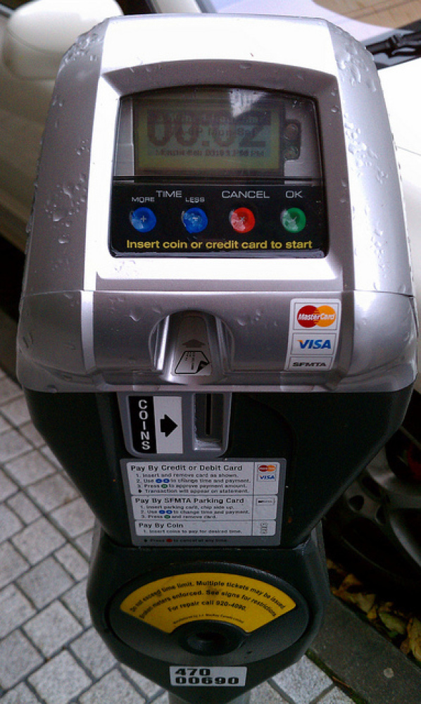 """San Francisco's SFPark program employs """"smart"""" parking meters that raise and lower their pricing such that there's ideally al"""