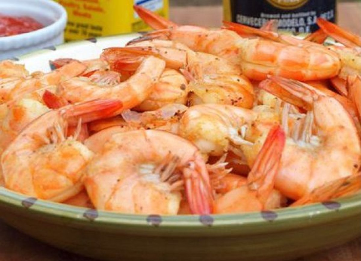 Peel n' Eat Shrimp are as easy to make as they are fun to eat. These are gently simmered in beer, butter and Old Bay, which m