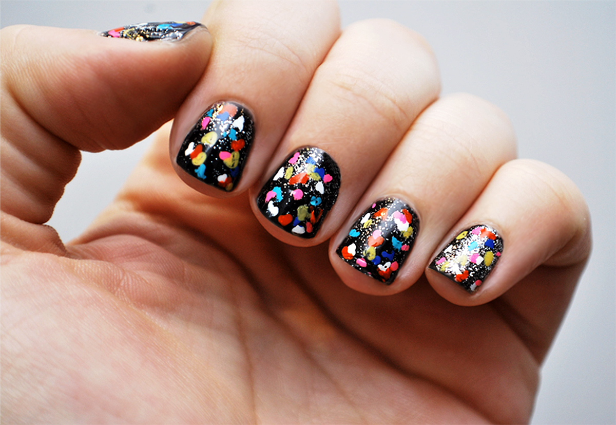 Diy Nail Art Camouflage Inspired Manicure Photo Huffpost