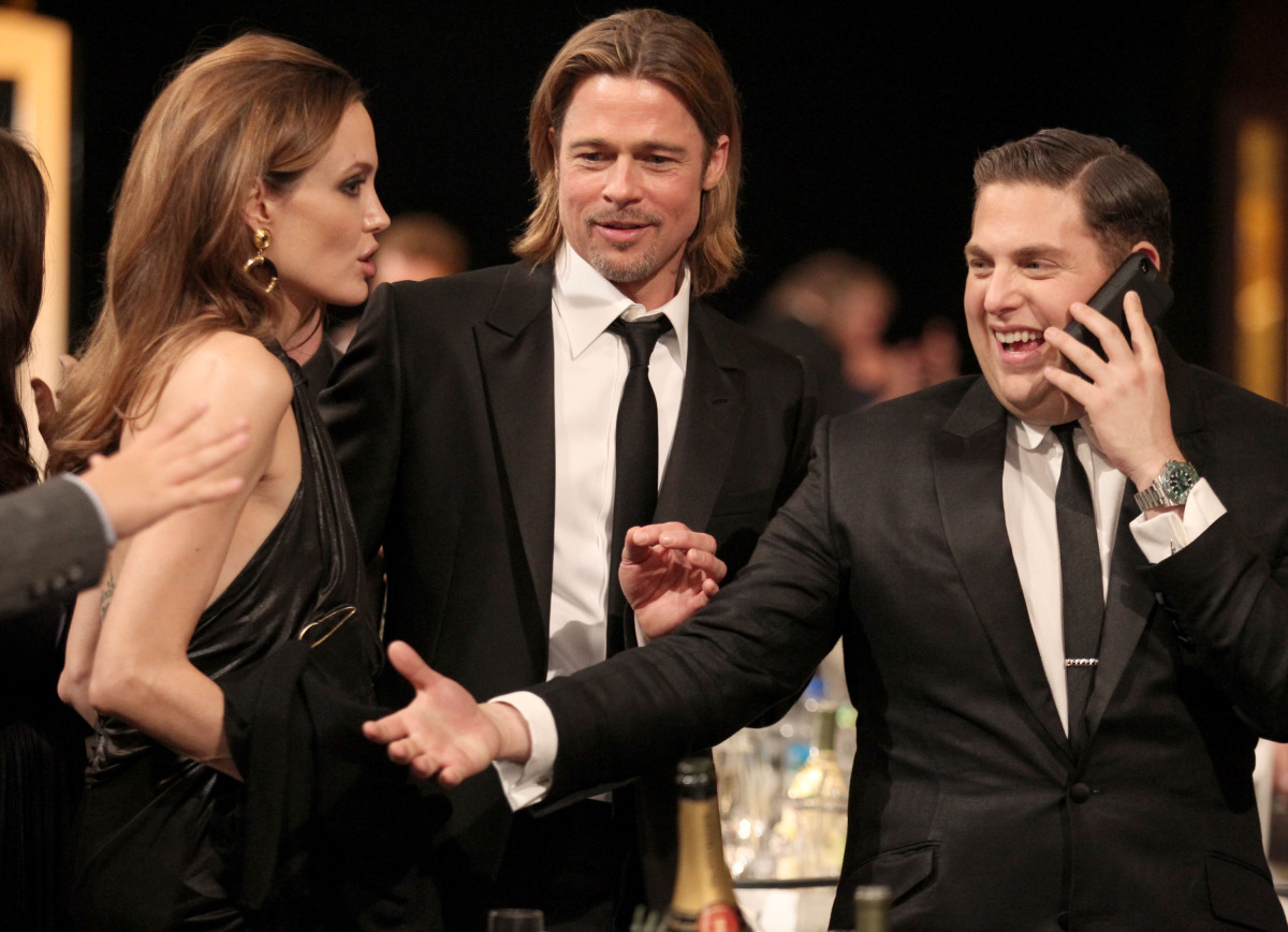 A behind the scenes look at the 2012 SAG Awards.