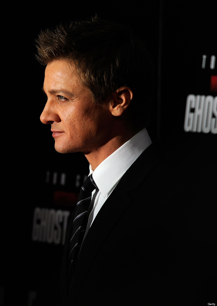 Jeremy Renner is used to nailing the tough-guy role in film, and he's just as much of a man's man off-screen. When Renner isn