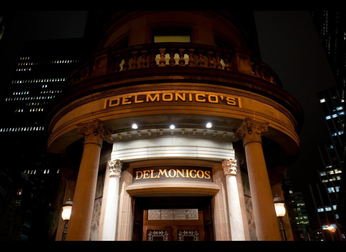 """1836 brought the first appearance of hamburger steak on a menu, at <a href=""""http://www.menuism.com/restaurants/delmonicos-new"""
