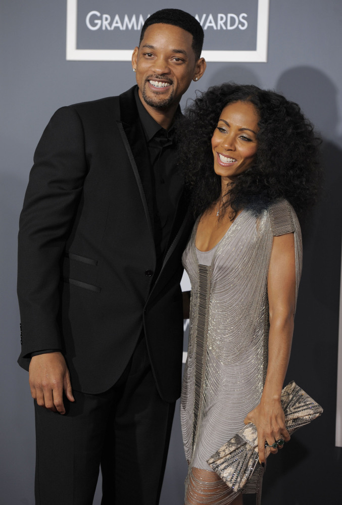 "Will Smith and Jada Pinkett <a href=""http://www.people.com/people/will_smith/biography"" target=""_hplink"">first met</a> in 199"