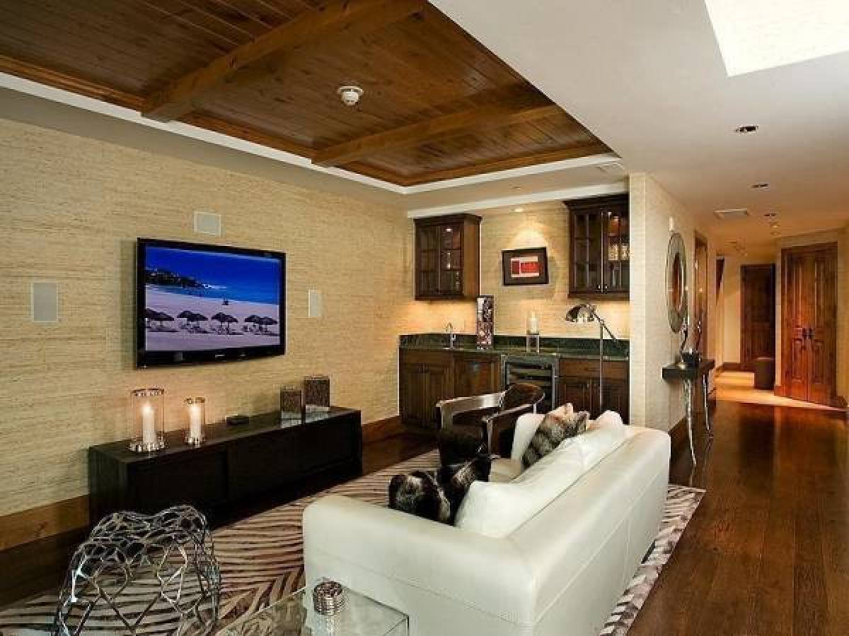 Tv Room Designs Amazing Design Inspiration 12 Clever Tv Rooms  Huffpost Design Inspiration