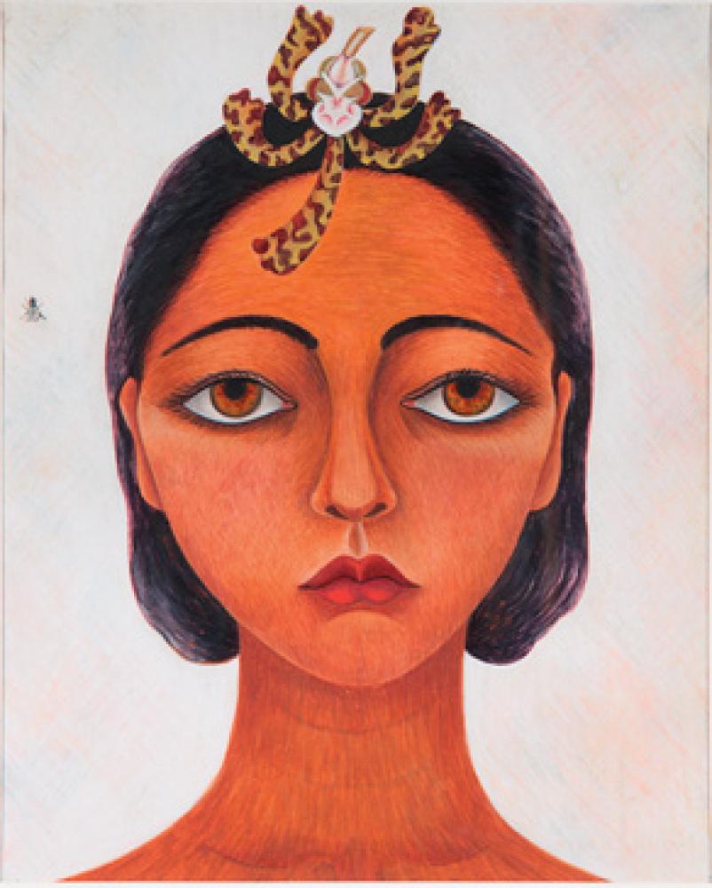 Rosa Rolada, Self Portrait