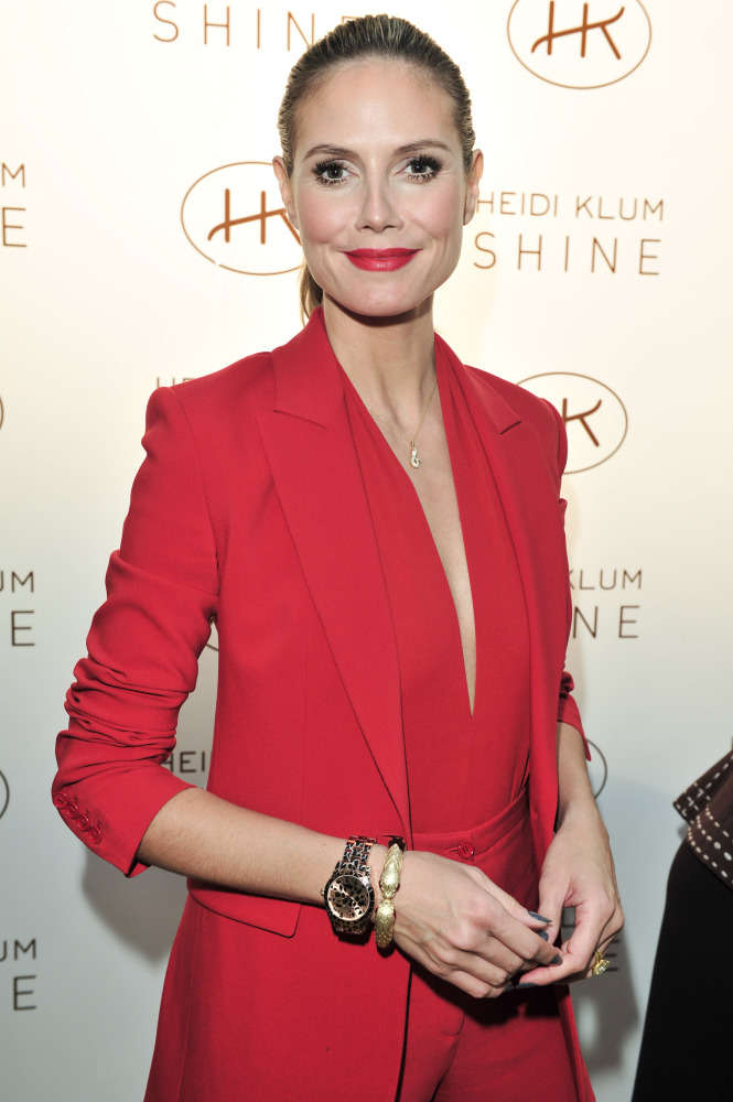 The supermodel launched her first fragrance in collaboration with Coty in 2011 entitled Shine. (WireImage photo)