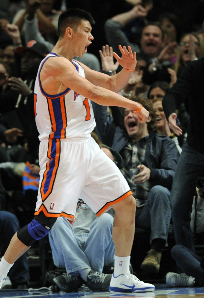"""Jeremy Lin, point guard for the New York Knicks, is the NBA's <a href=""""http://www.nytimes.com/2011/12/29/sports/basketball/je"""