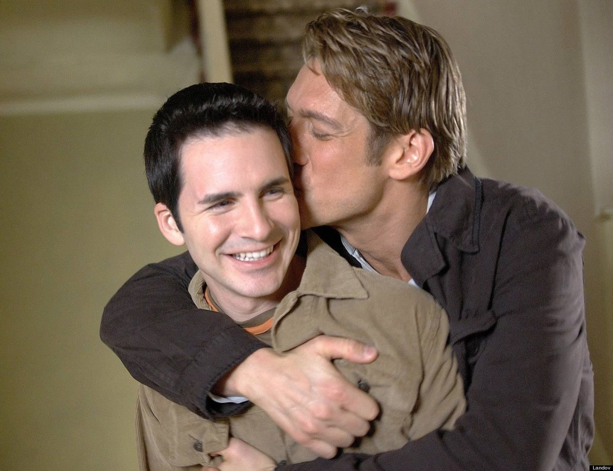 "For the first two seasons of ""Queer As Folk,"" we thought that Michael Novotny (Hal Sparks) would never get past his obsession"
