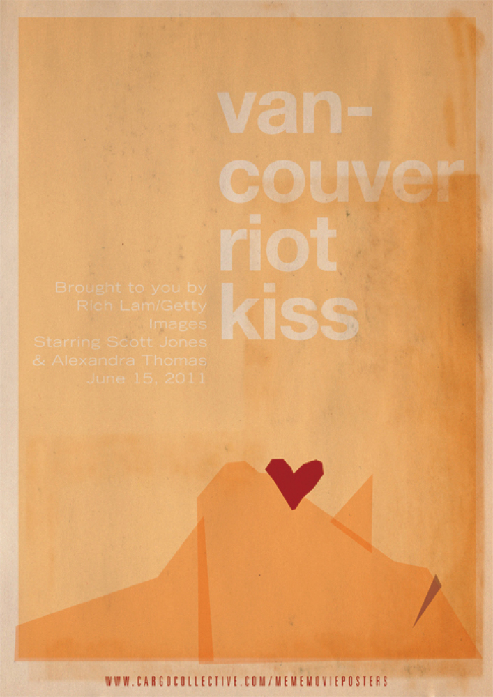 "Richard Lam for Getty Images shot ""The Vancouver Riot Kiss"" photo during the Vancouver street riots on June 15, 2011. The cou"
