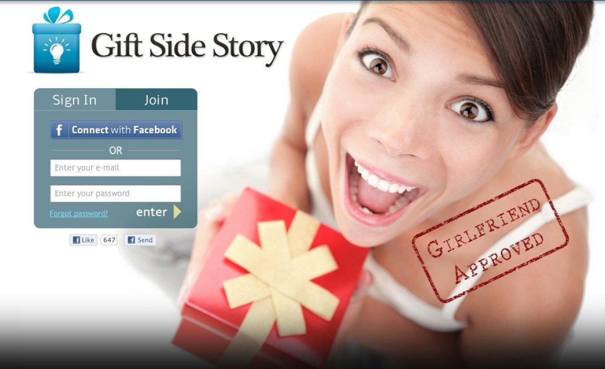 "We described <a href=""https://giftsidestory.com/enter_code"" target=""_hplink"">Gift Side Story</a>'s mission <a href=""http://ww"