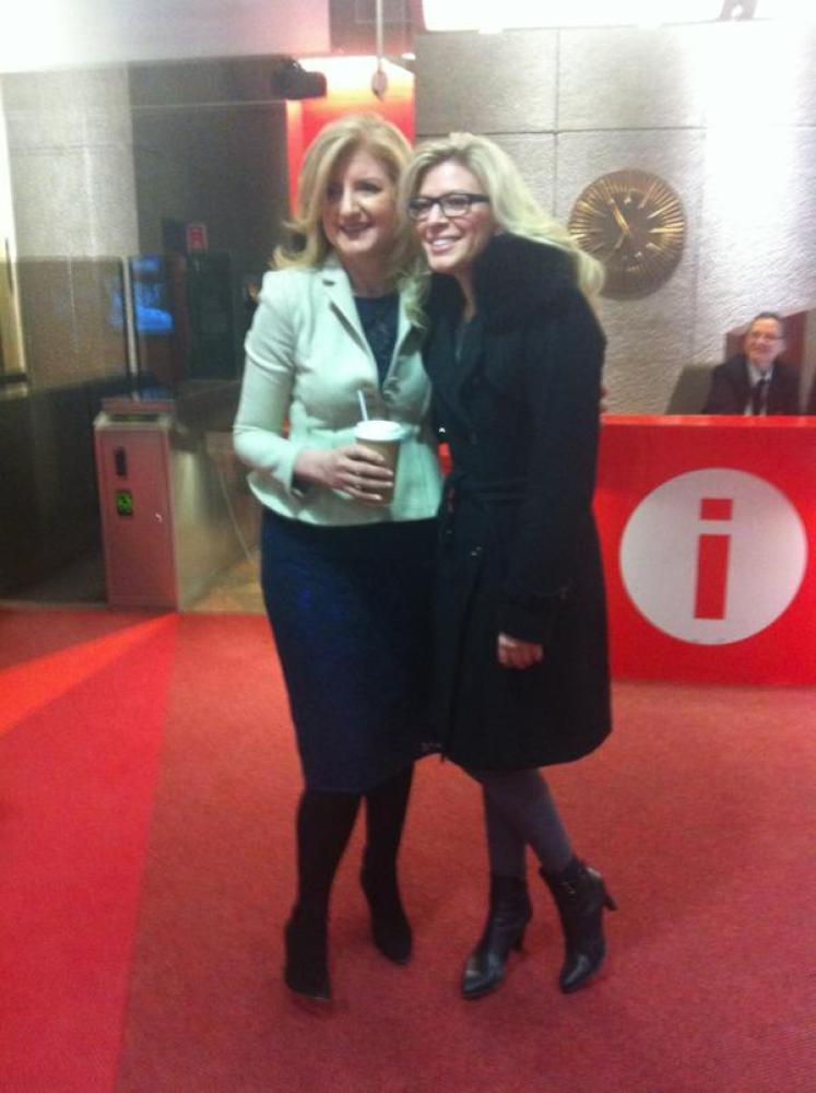 Early in the morning with Anne Marie Withenshaw of Daybreak Montreal