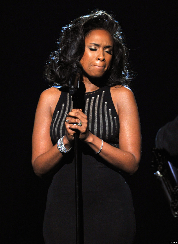 """Oscar-winning actress Jennifer Hudson sang Whitney Houston's iconic cover of """"I Will Always Love You"""" from """"The Bodyguard"""" as"""