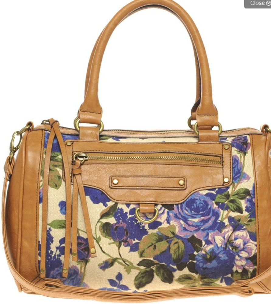 """Ditch that neutral tote you've been using all winter for a fun, flirty floral <a href=""""http://us.asos.com/ALDO/ALDO-Tavolario"""