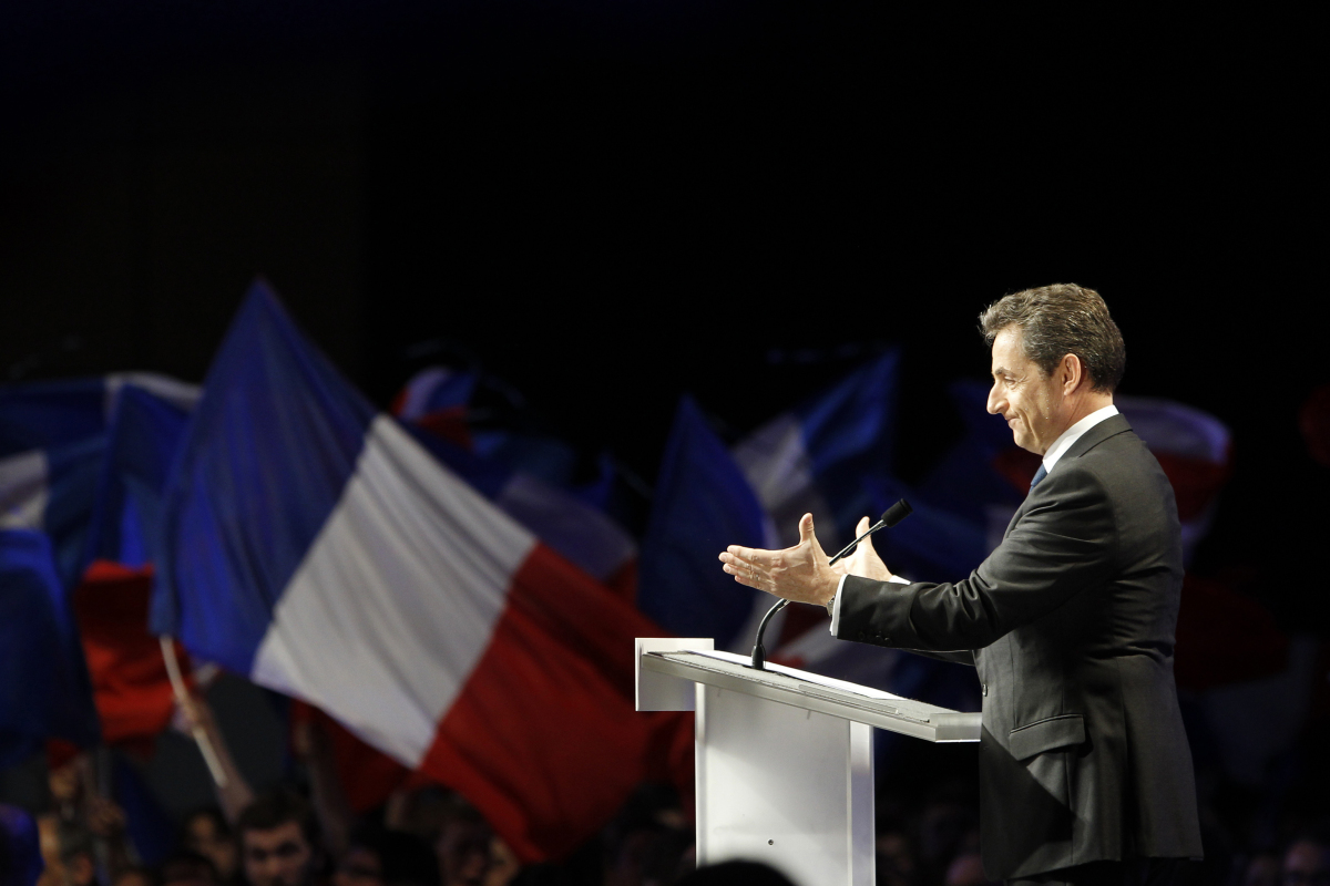 French President Nicolas Sarkozy, 57, is running for a second presidential term for the Union for a Popular Movement (UMP). S