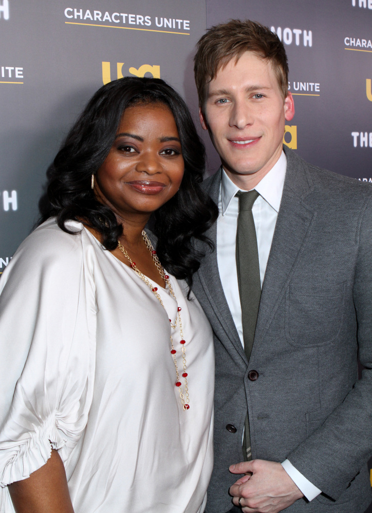 WEST HOLLYWOOD, CA - FEBRUARY 15: Octavia Spencer and Dustin at USA Network's and The Moth's Storytelling Tour 'A More Perfec