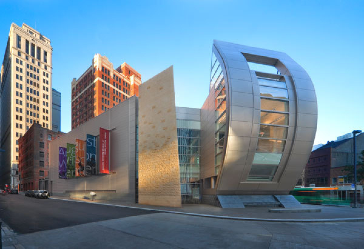 """The <a href=""""http://www.augustwilsoncenter.org/"""">August Wilson Center for African American Culture</a>, named in honor of a P"""