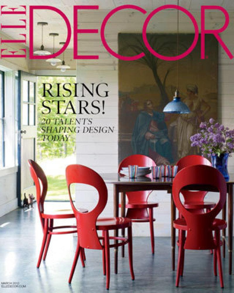 """<em>Elle Decor</em> March 2012 cover   Photo by William Waldron of <em><a href=""""http://www.elledecor.com/"""" target=""""_hplink"""""""
