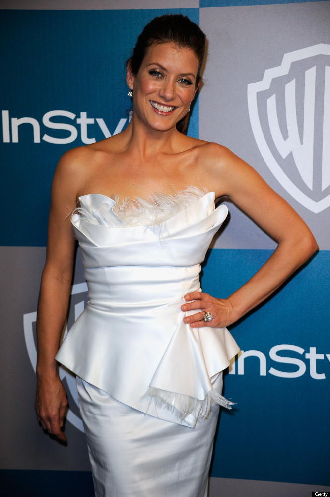 Actress Kate Walsh arrives at 13th Annual Warner Bros. And InStyle Golden Globe Awards After Party at The Beverly Hilton hote