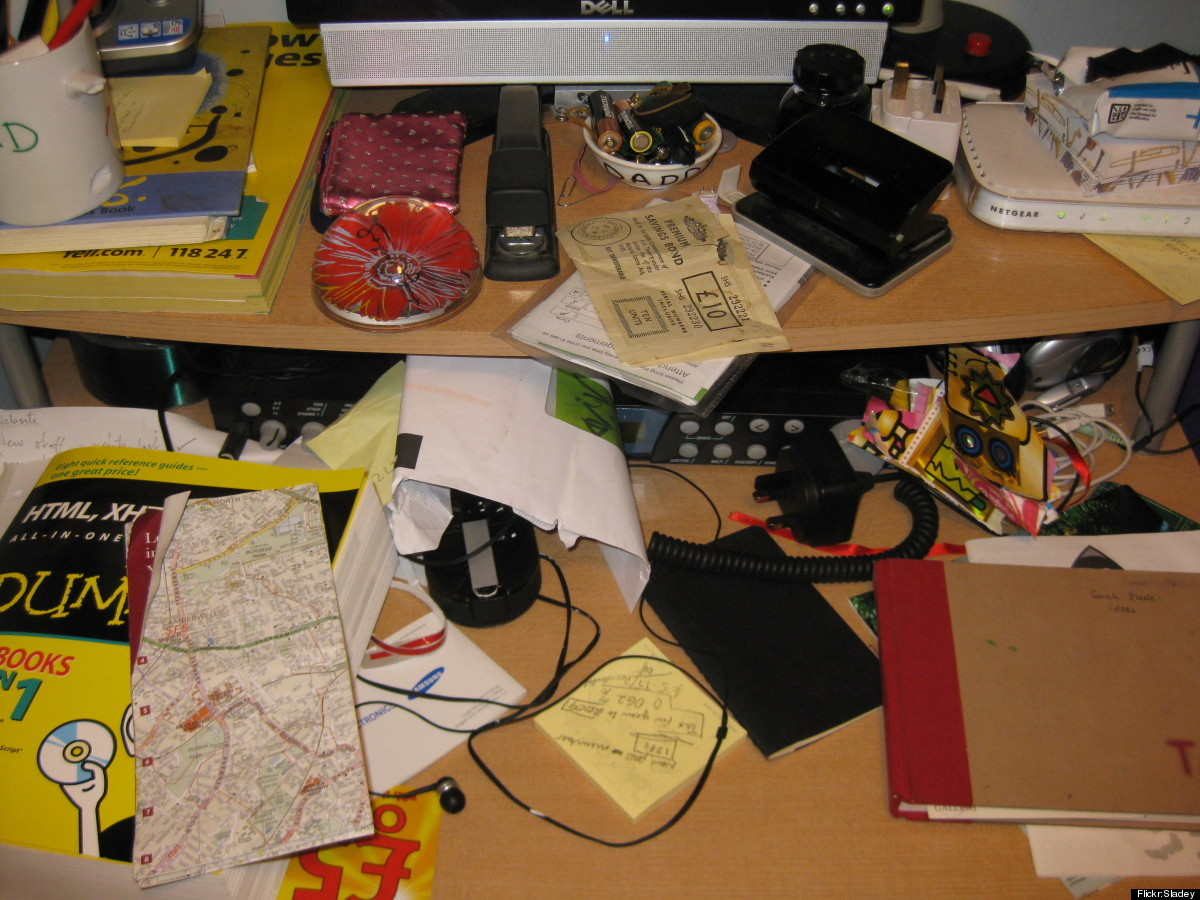 OK, so desk clutter may not be <em>killing</em> you, but it certainly is killing your work. In fact, a cluttered workspace ca