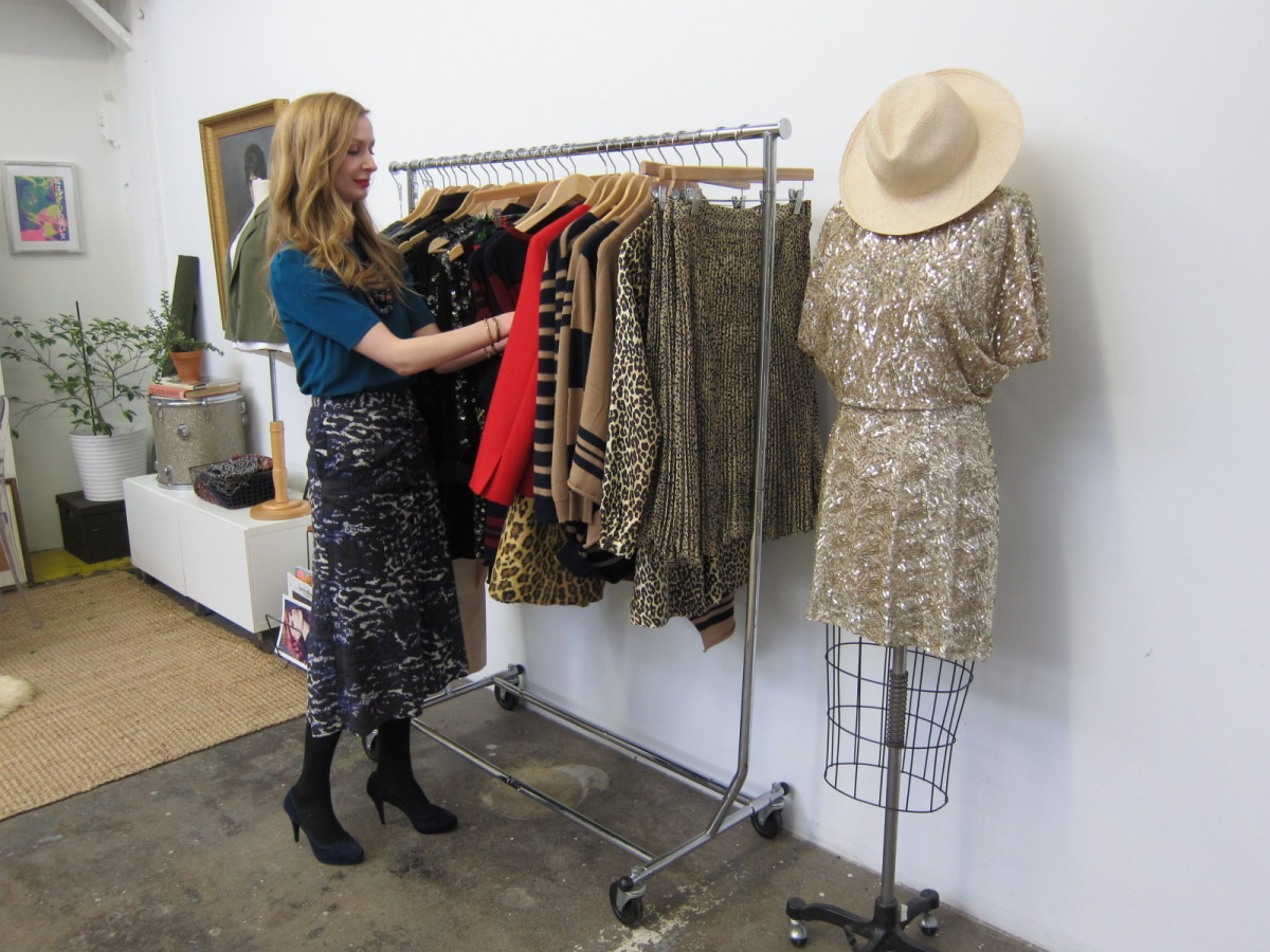 """Having recently completed her fall 2012 collection, Coker explains her inspiration: """"there's a lot of animal print, African-i"""