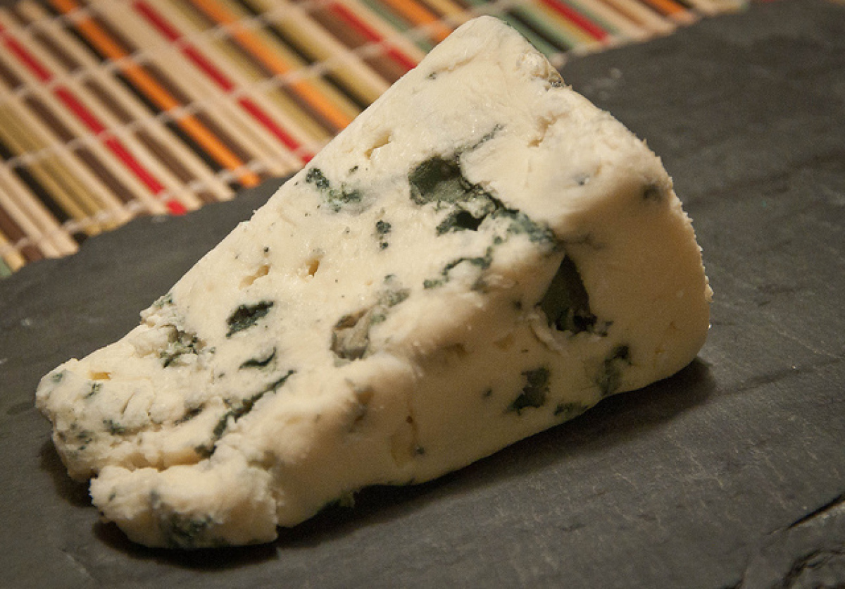 We serve roquefort at work and every time a customer gets a piece, I get a piece too. It's only fair. We serve the sheep's mi