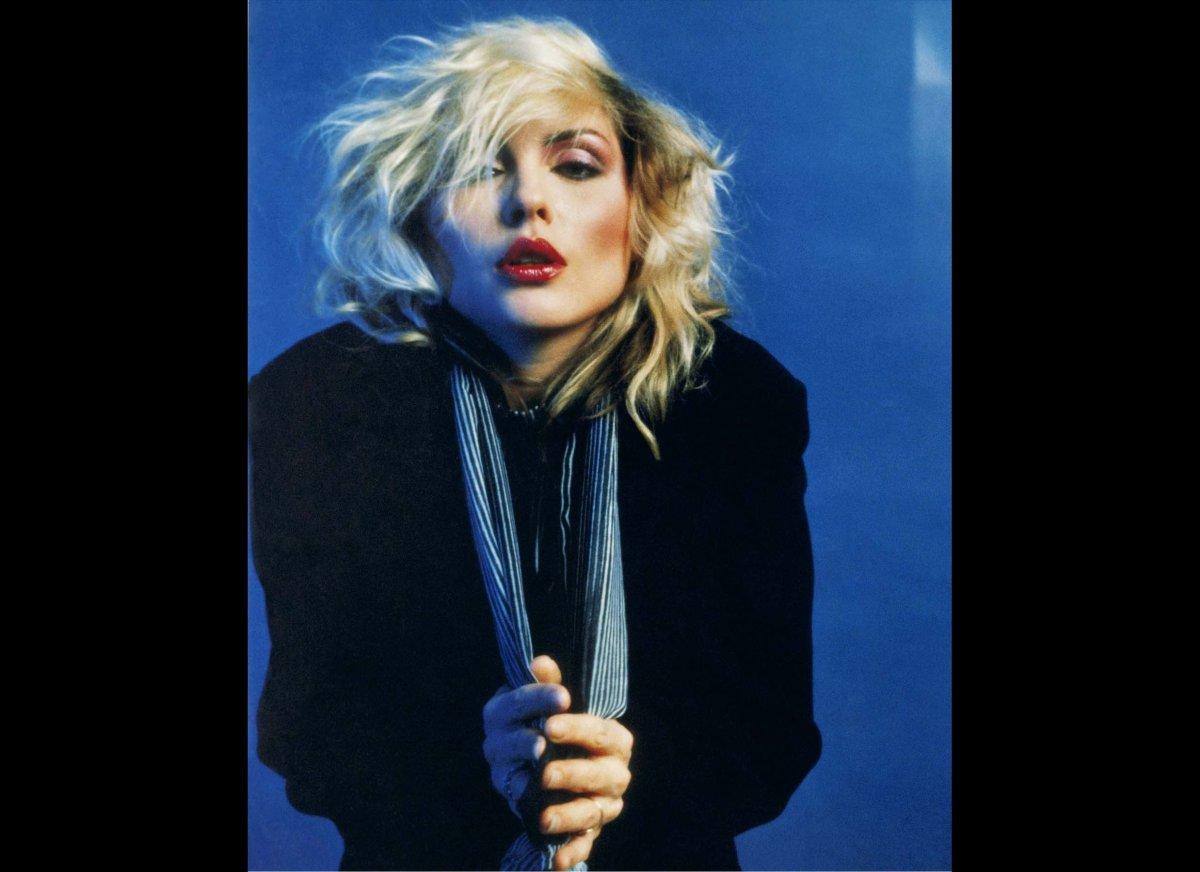 Blondie singer Debbie Harry.